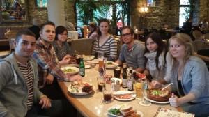 Azubi-Abendessen