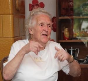 2014_60 Jahre MWG_aelteste_Mitglieder_Frau Bansen