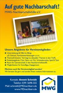 Das Angebot des Nachbarschaftshilfevereins