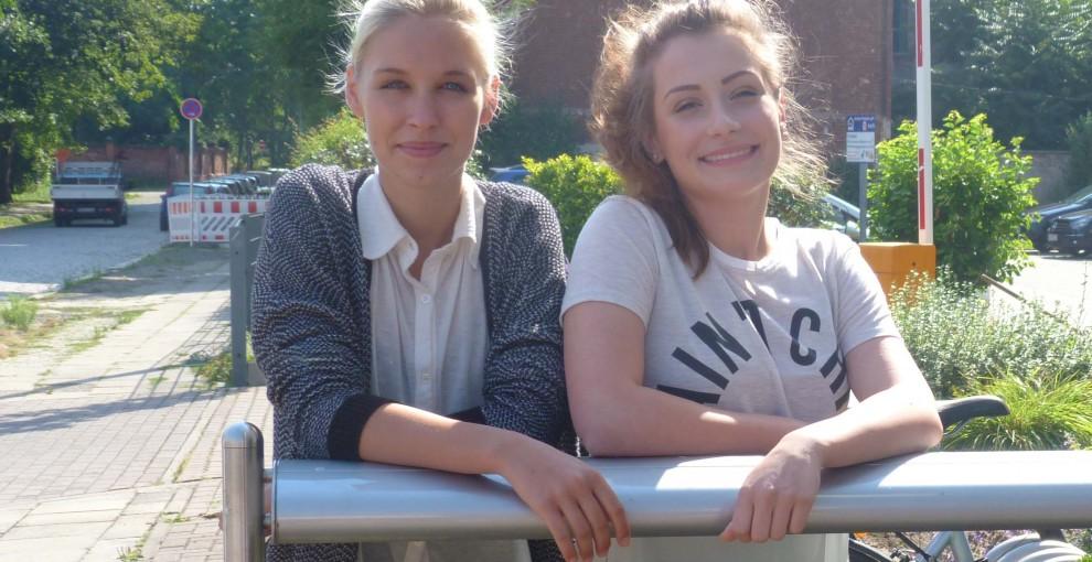 Elisa und Julia starten ihre Ausbildung bei der MWG