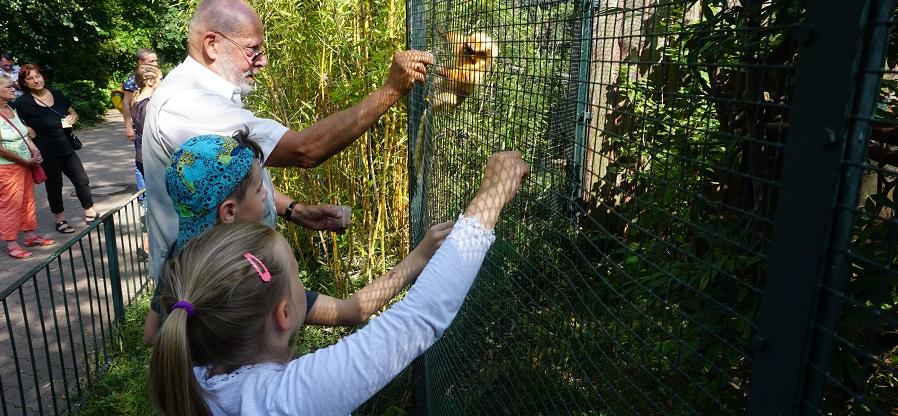 Mit Susi & Tino in den Zoo
