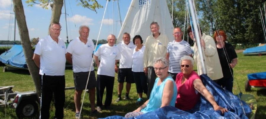 Die mit dem Wind segeln
